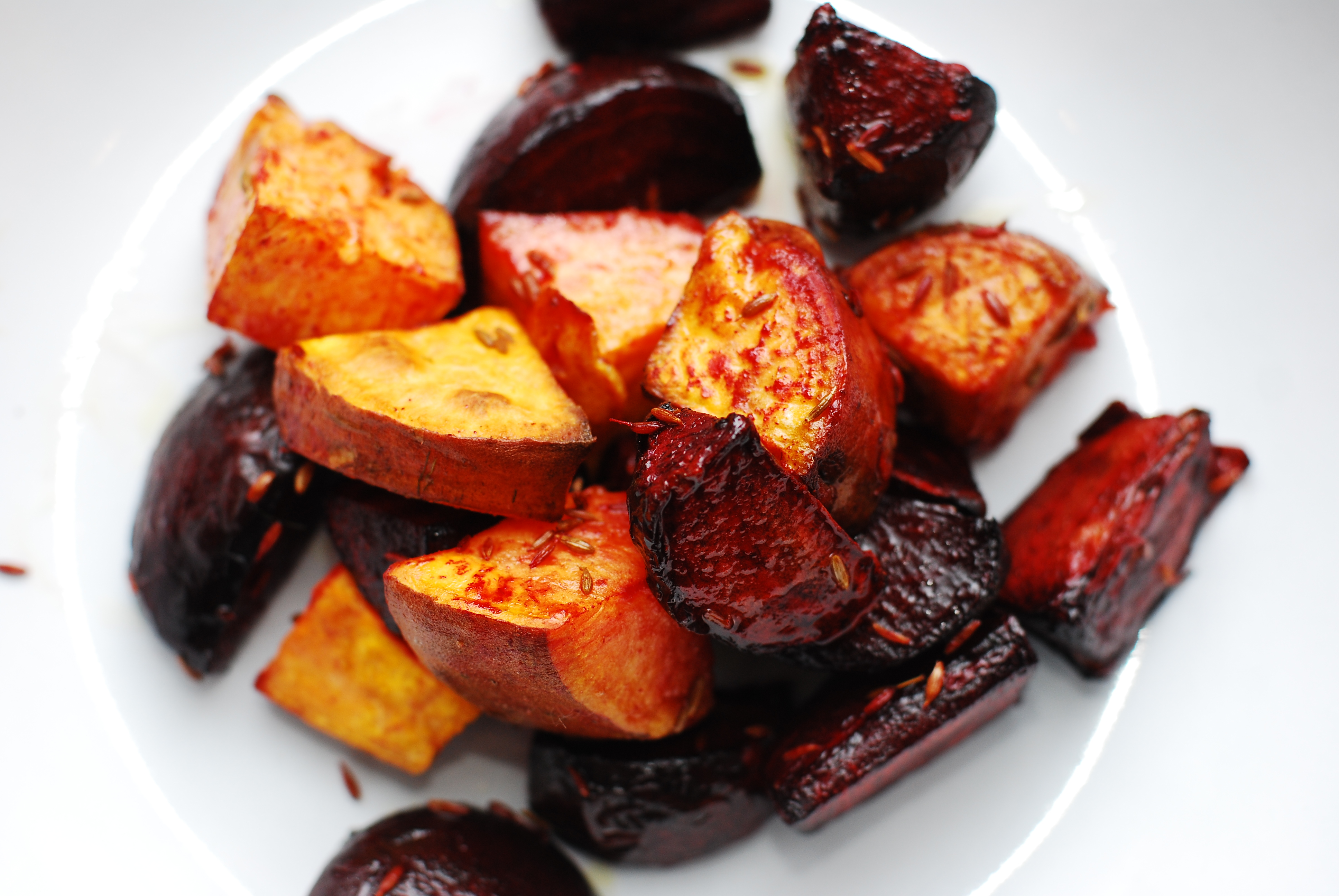 Spiced Roast Beetroot And Sweet Potato Roughkitchen Watermelon Wallpaper Rainbow Find Free HD for Desktop [freshlhys.tk]
